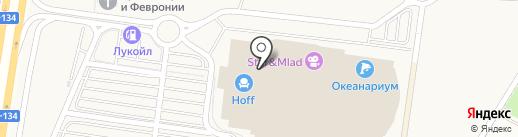 ЗОВ на карте Воронежа