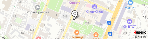 Элитстрой на карте Воронежа
