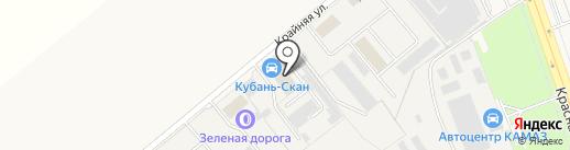 Кубань-Скан на карте Динской