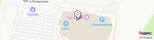 Суши в дом на карте Воронежа