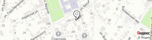 ТОР на карте Воронежа