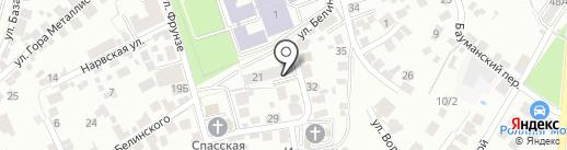 Велес на карте Воронежа
