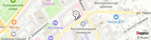 ТрансПогранУслуги на карте Воронежа