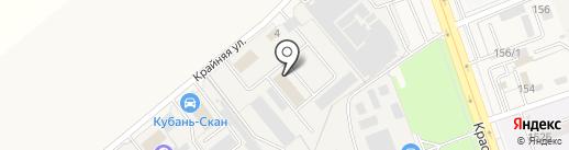Ф-Декор на карте Динской