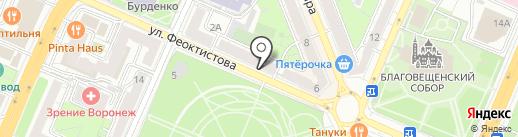 Статус на карте Воронежа