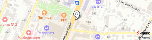 Робин Сдобин на карте Воронежа