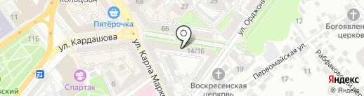 TRUE OUTLET на карте Воронежа