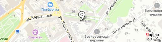 Компоинт на карте Воронежа