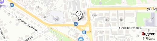 Разливной Рай на карте Воронежа