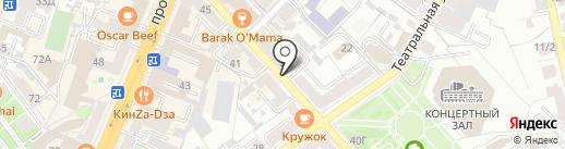 Nails Studio на карте Воронежа