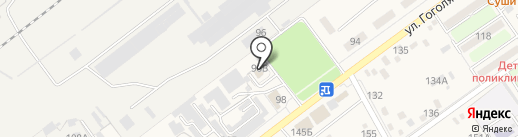 Мир подшипников на карте Динской