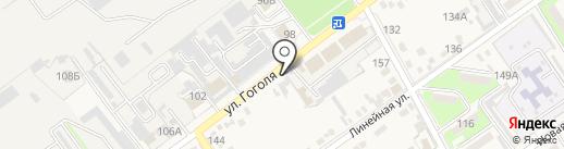 Магазин аккумуляторов на карте Динской