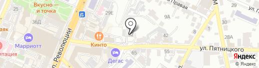 Промышленное проектирование на карте Воронежа