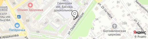 Агропроминвест на карте Воронежа