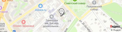 Озон на карте Воронежа