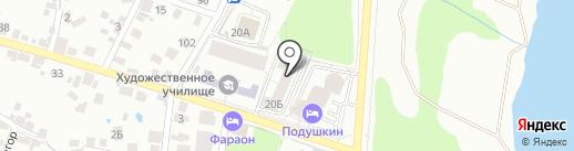 Центр Врачебной Косметологии на карте Воронежа