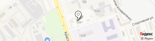 Динская автошкола на карте Динской