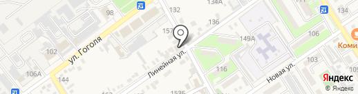 Шашлычная №2 на карте Динской