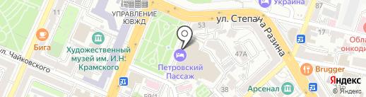 Dizzy на карте Воронежа
