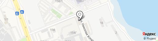 Спортивный на карте Динской