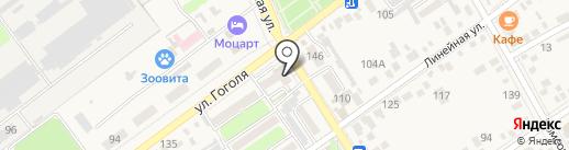 Авоська на карте Динской