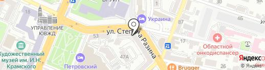 Людмила на карте Воронежа