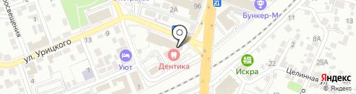 Ижтрансфура на карте Воронежа