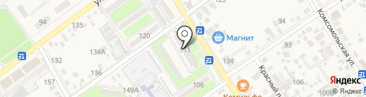 Женская консультация на карте Динской