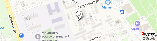 Анастасия на карте Динской