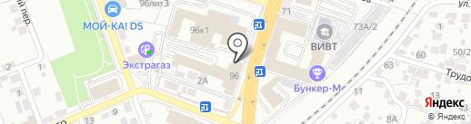 Общероссийский народный фронт на карте Воронежа
