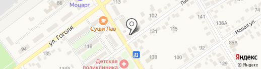 Магазин сантехники на Линейной (Динская) на карте Динской
