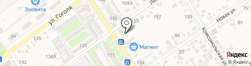 Бэмби на карте Динской
