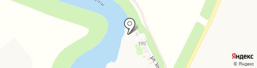 Золотой карась на карте Динской