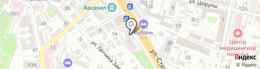 Je T`AIME на карте Воронежа