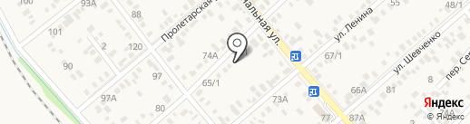 Санлэнд на карте Динской