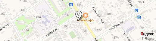 Натали на карте Динской