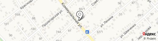 DK на карте Динской