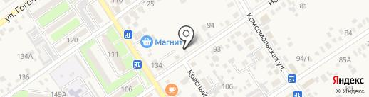 Скутер Сток на карте Динской