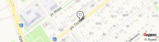 Светлана на карте Динской