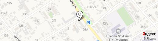 Парикмахерская на карте Динской