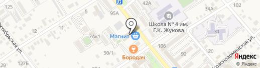Аптечный пункт на карте Динской