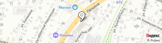 Ведомственная охрана железнодорожного транспорта РФ на карте Воронежа