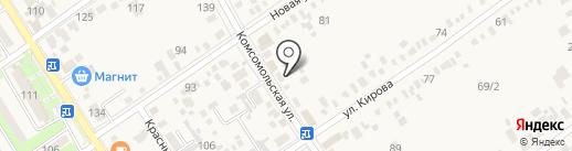 Мангал-City на карте Динской