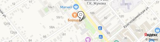 Горница на карте Динской
