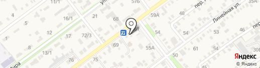 Продуктовый магазин на карте Динской