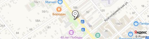 Ромашка на карте Динской