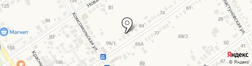 ВЭКУД на карте Динской