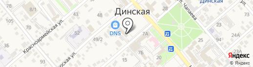 Юридическая компания на карте Динской