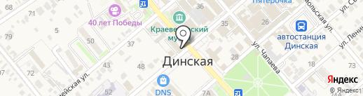 Lucky на карте Динской