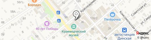 PROинструмент на карте Динской